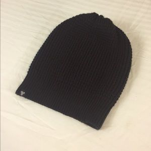 Black Beanie from Aritzia